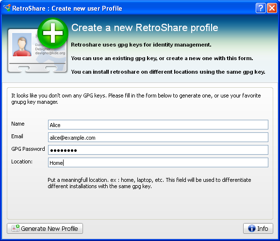 Portable Retroshare 0.5.4e 6268 full